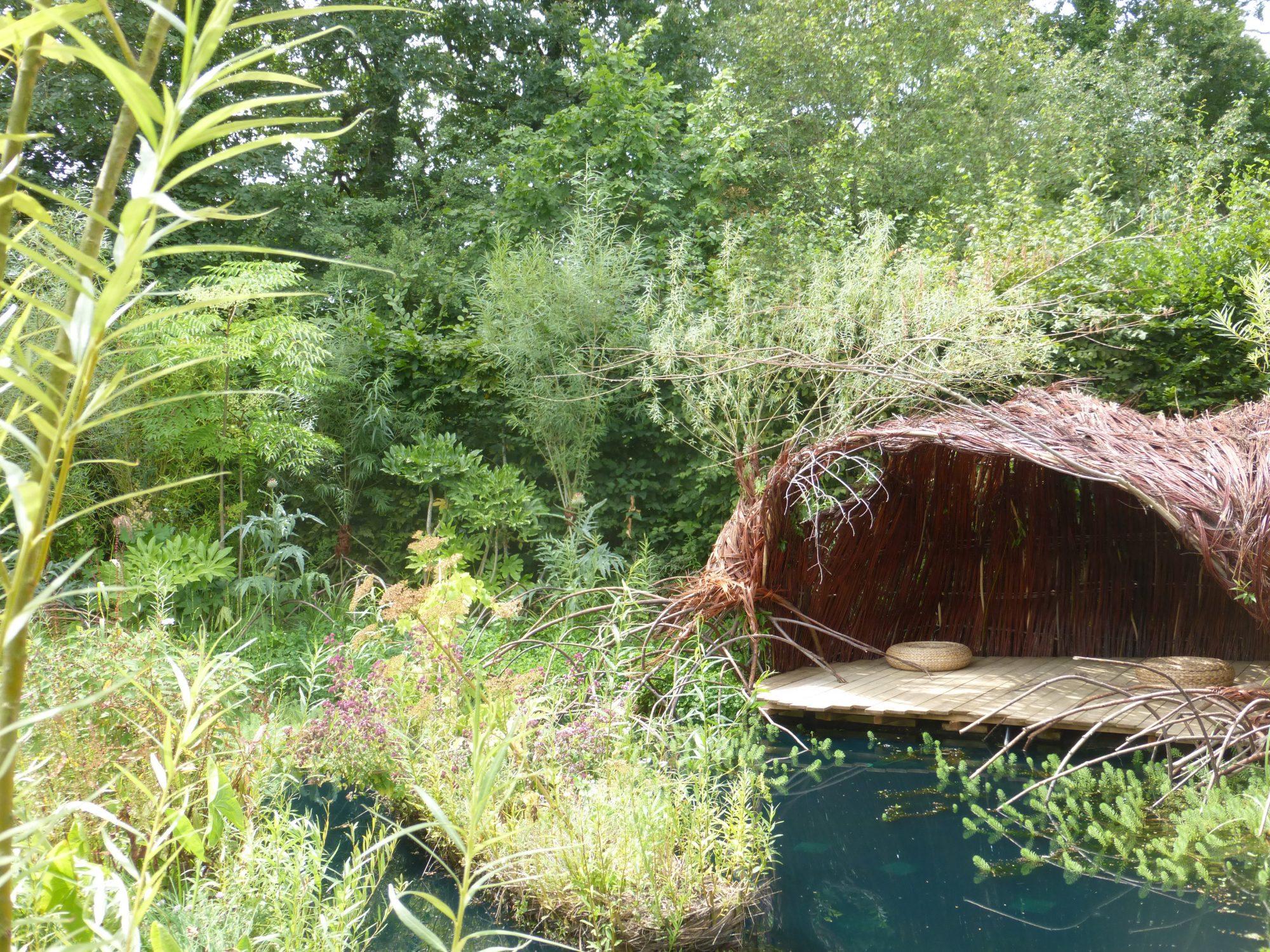 Chaumont drijvende tuin